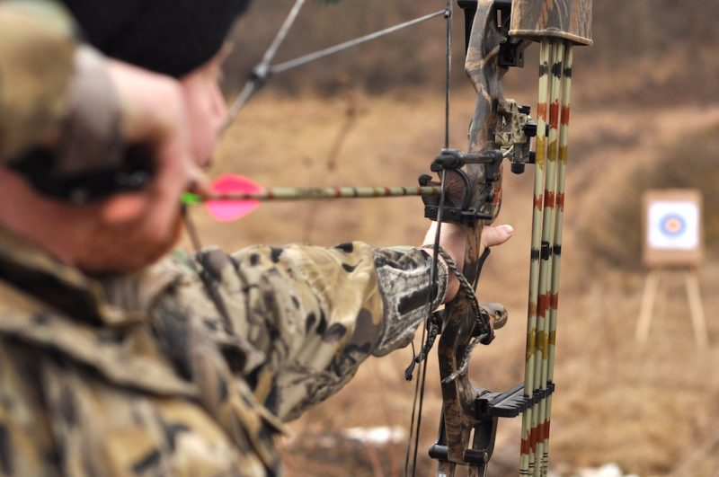 Bowhunting with a compound bow takes a great deal of practice.